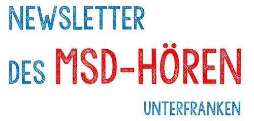 NEWSLETTER des MSD-Hören TITELBILD