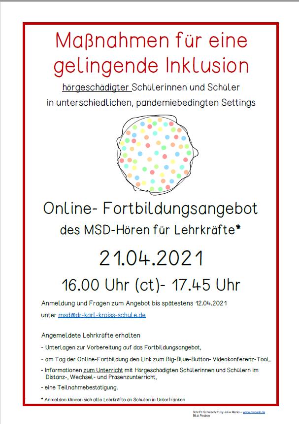 Fobi Online pandemiebedingt f Homepage