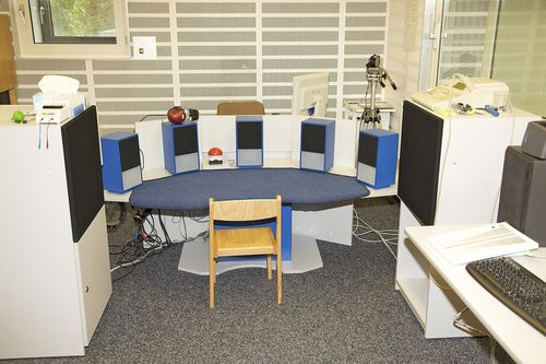 großer Audioraum