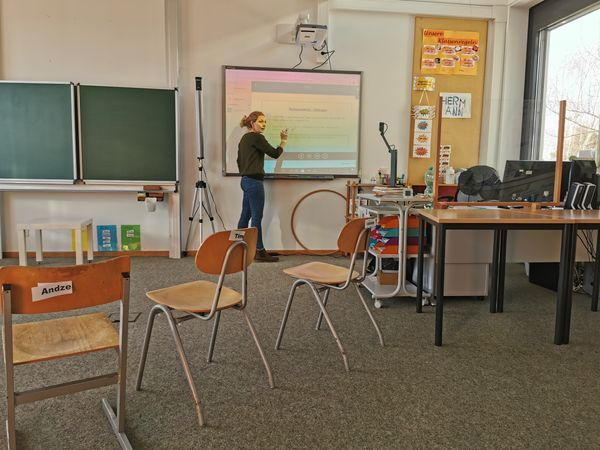 Lehrer Distanzunterricht