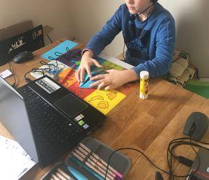 01 Basteln Homeschooling
